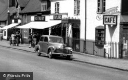 Rugeley, Parked Vauxhall Car c.1951