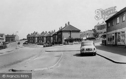Rugeley, Queensway, Pear Tree Estate c.1955