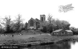 St Augustine's Church c.1955, Rugeley