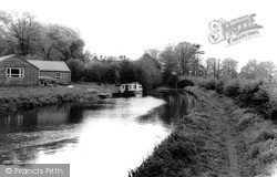 Rugeley, The Canal c.1955
