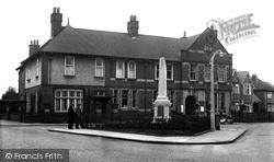 Rugeley, The Memorial c.1955