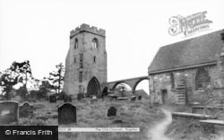 Rugeley, The Old Chancel c.1955