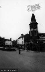Rugeley, The Square c.1955