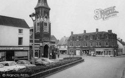 The Square c.1955, Rugeley
