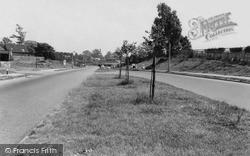 Rugeley, Western Springs Road c.1955
