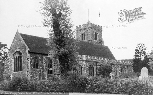 Photo of Ruislip, St Martin's Parish Church c.1950