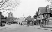 Ruislip, the George Hotel, Bury Street c1960
