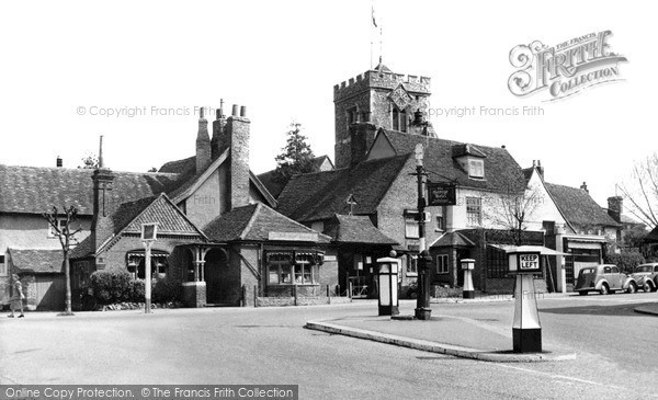 Photo of Ruislip, The Old Village c.1950