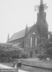Runcorn, All Saints Church c.1965