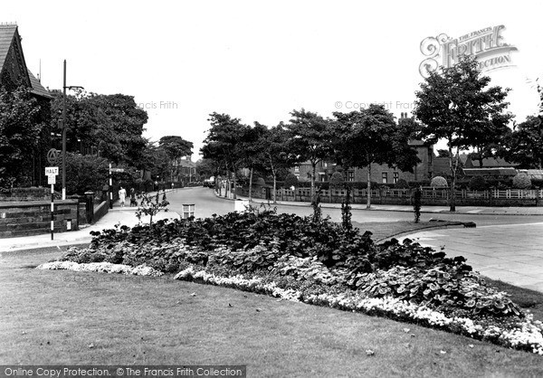 Photo of Runcorn, Greenway Road from the Memorial c1955