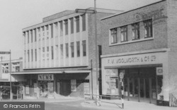 Runcorn, Shops, High Street c.1965