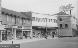 Runcorn, Shops In The Town Centre c.1965
