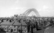 Runcorn, the Bridge c1965
