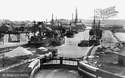 Runcorn, The Docks, Weston Point c.1900