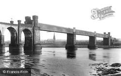 The Railway Viaduct 1900, Runcorn
