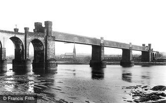 Runcorn, the Railway Viaduct 1900