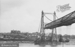 Runcorn, The Transporter Bridge c.1955
