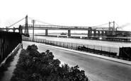 Runcorn, the Two Bridges 1929