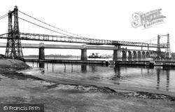 The Two Bridges c.1955, Runcorn
