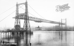 Runcorn, Transporter Bridge c.1906