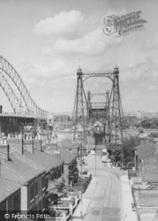Runcorn, Transporter Bridge c.1961