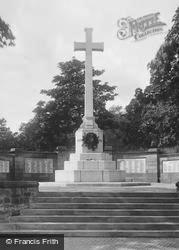 Runcorn, War Memorial 1923