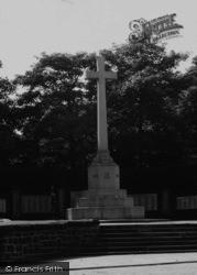 Runcorn, War Memorial c.1955