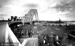 Widnes Bridge c.1965, Runcorn