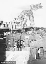 Runcorn, Widnes Bridge c.1965