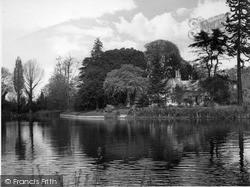 Runnymede, Magna Carta Island c.1960