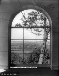 Runnymede, View From RAF Memorial c.1960