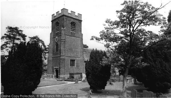 Ruscombe, St James' Church c1960