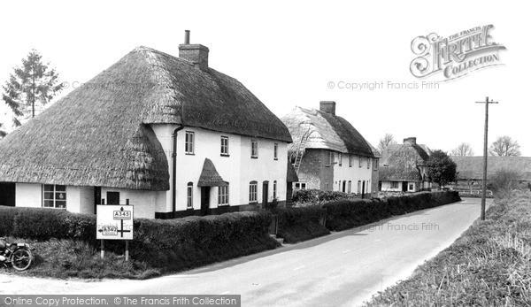 Photo of Rushall, The Village c.1965