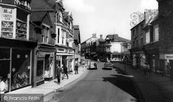 Rushden, High Street 1966