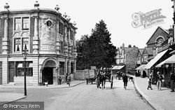Rushden, High Street And Post Office c.1890