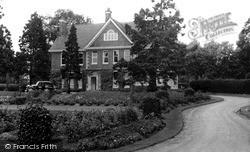 Rushden, The Memorial Hospital c.1955