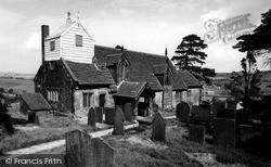 Rushton Spencer, St Lawrences Church c.1955
