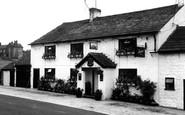 Rushton Spencer, the Fox Inn c1955