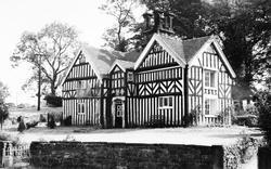 Rushton Spencer, Wallhill Manor c.1955