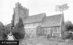 Rusper, St Mary Magdalene's Church 1904