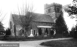 Rusper, St Mary Magdalene's Church 1909