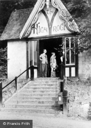 Rusthall, Entrance To High Rocks c.1960