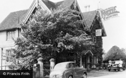 Rusthall, High Rocks Hotel c.1960