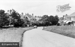 Rusthall, Lower Green Road c.1955