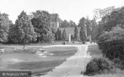Rusthall, The Parish Church c.1955