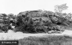Rusthall, The Rocks c.1955