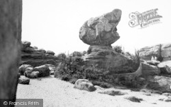 Rusthall, The Toad Rock c.1955