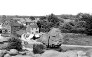 Rusthall, Toad Rock c1950
