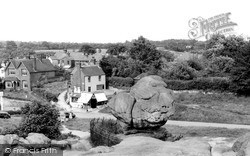 Rusthall, Toad Rock c.1950