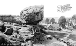Rusthall, View From Toad Rock  c.1870